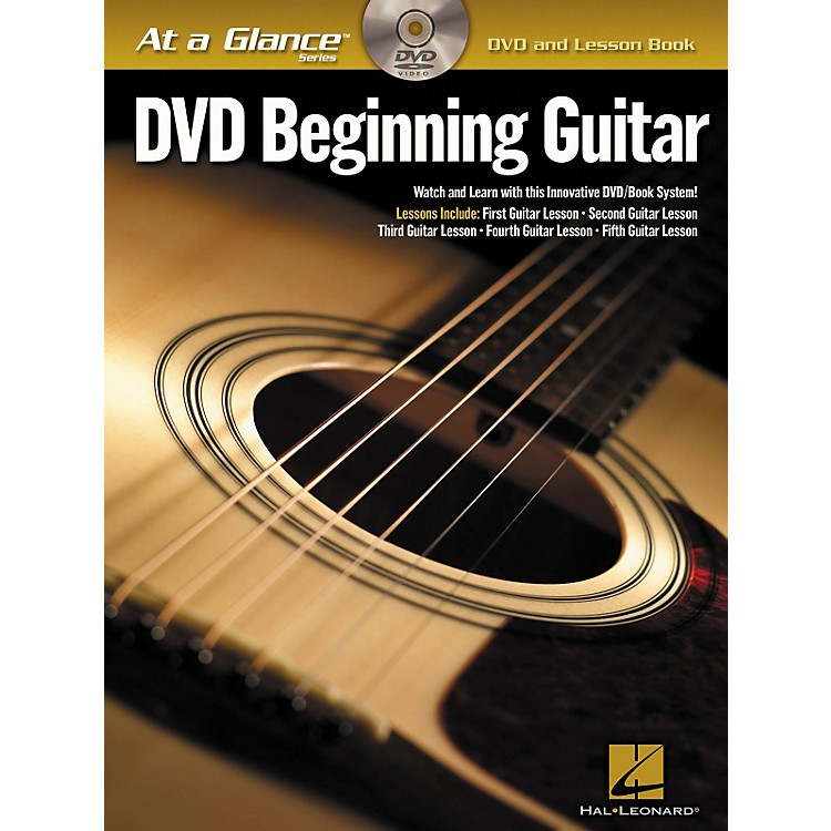 Hal Leonard DVD Beginning Guitar with Tab
