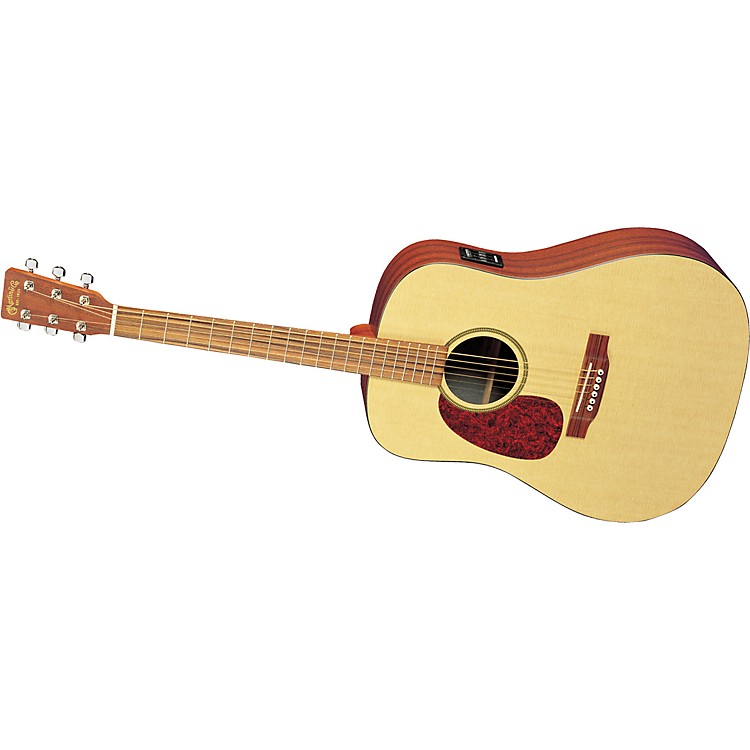 Martin DXME Left-Handed Acoustic-Electric Dreadnought Natural