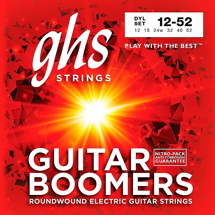 GHSDYL Boomers Light- Wound 3rd Electric Guitar Strings