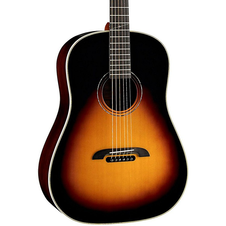 AlvarezDYMR70 Yairi Masterworks Dreadnought Acoustic GuitarSunburst