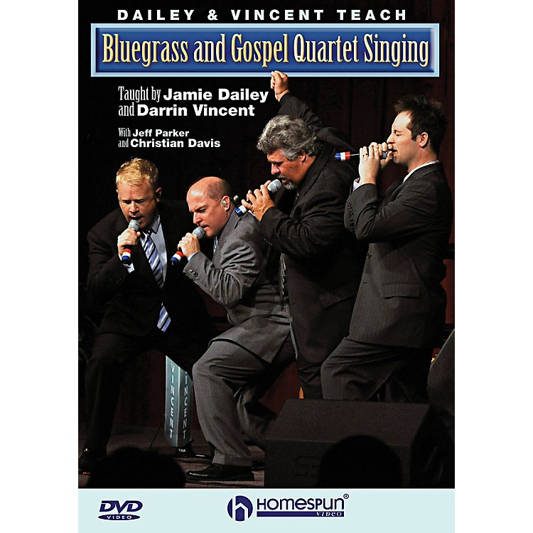 HomespunDailey & Vincent Teach Bluegrass And Gospel Quartet Singing DVD