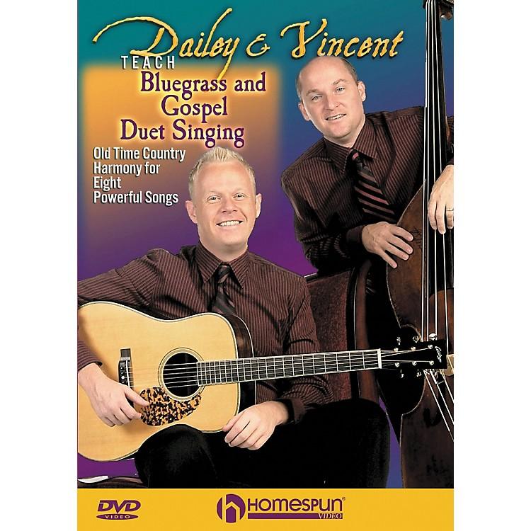 HomespunDailey & Vincent Teach Bluegrass and Gospel Duet Singing (DVD)