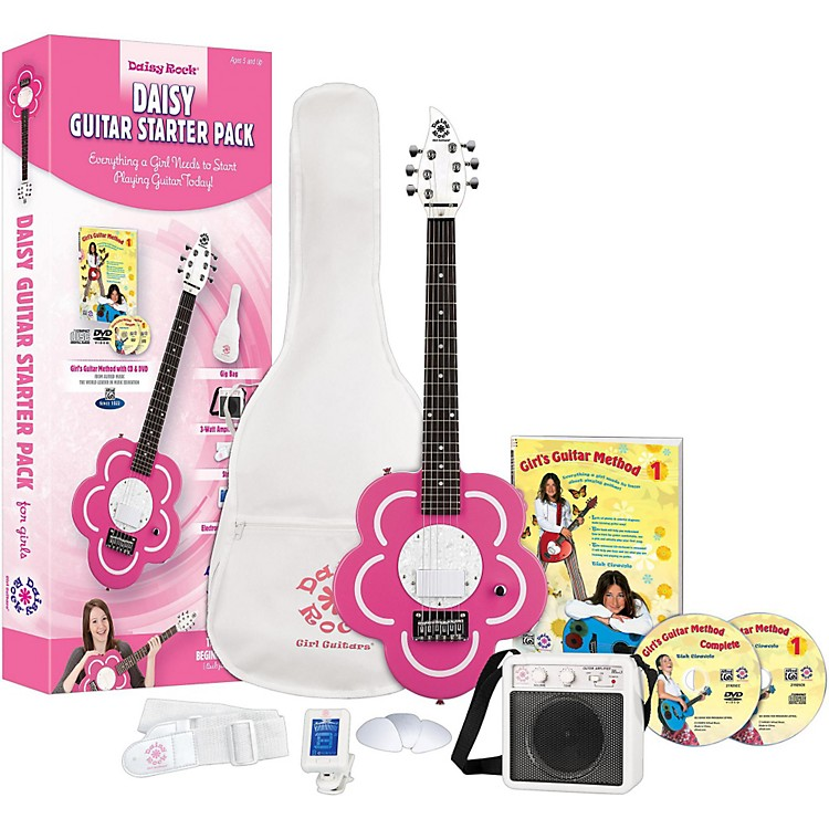 daisy rock daisy electric short scale electric guitar starter pack music123. Black Bedroom Furniture Sets. Home Design Ideas