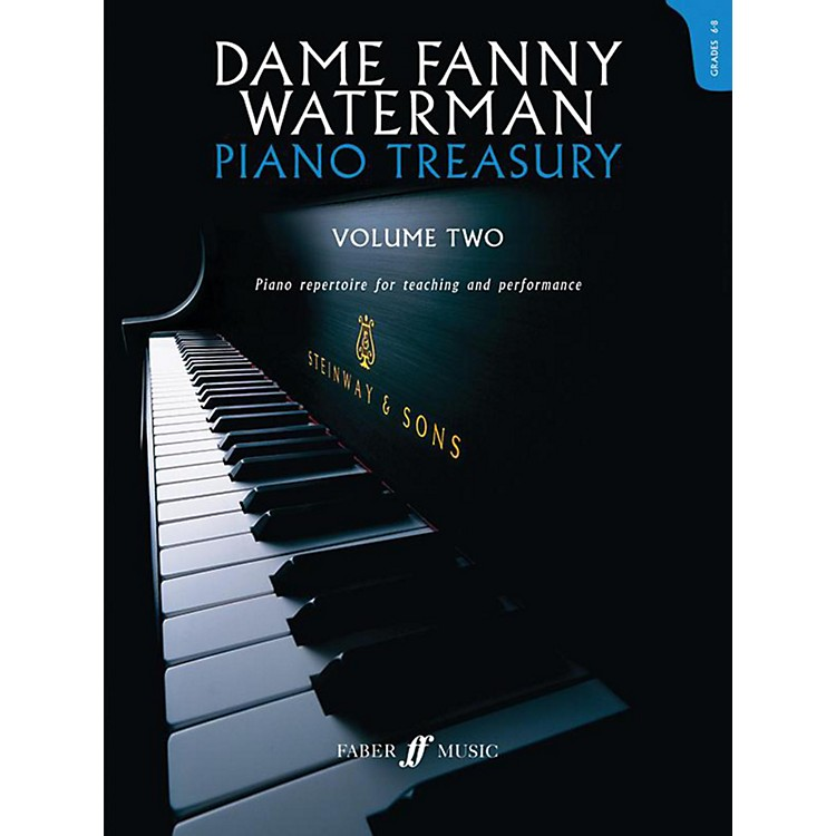 Faber Music LTD Dame Fanny Waterman - Piano Treasury Volume Two Advanced Book