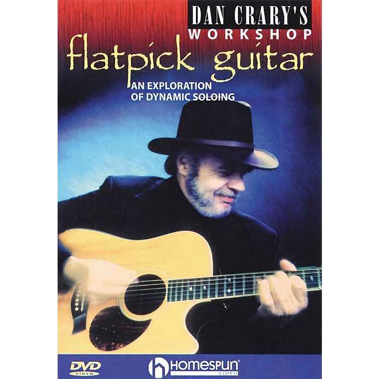 Homespun Dan Crary's Flatpick Guitar Workshop (DVD)