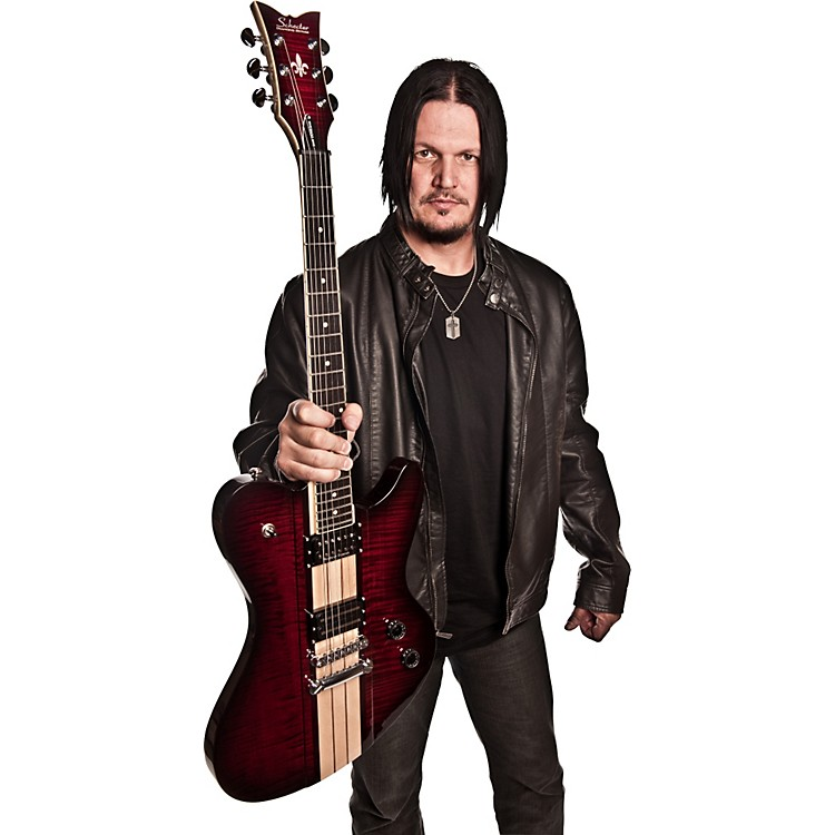 Schecter Guitar Research Dan Donegan Ultra Signature Electric Guitar Black Cherry