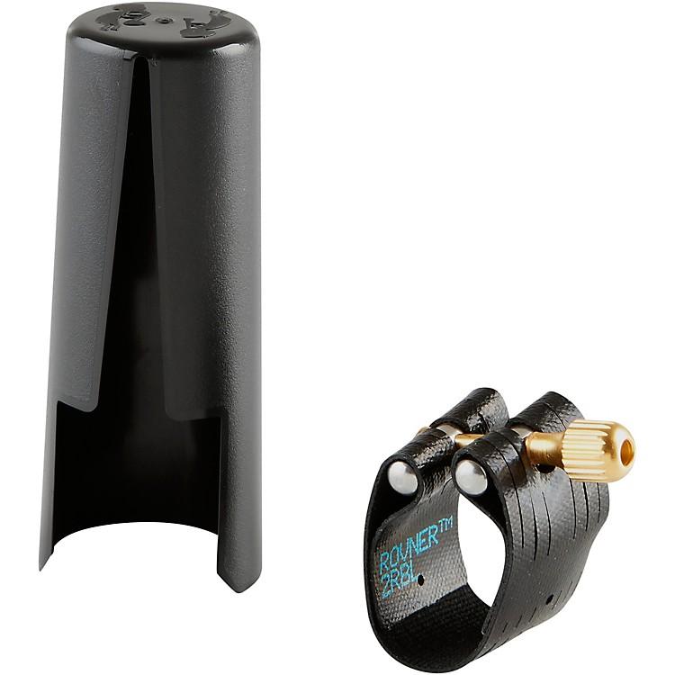 RovnerDark Baritone Saxophone Ligature And Cap2RBL - Fits Most Slim Bari Sax Mouthpieces