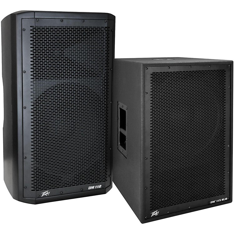 PeaveyDark Matter DM 112 Powered Speaker and DM115 Sub