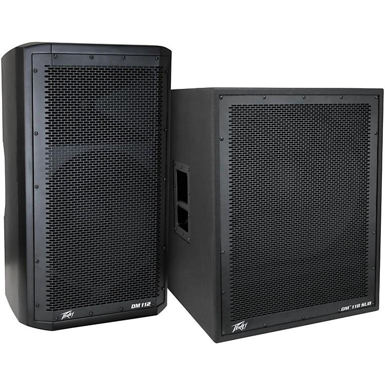 PeaveyDark Matter DM 112 Powered Speaker and DM118 Sub