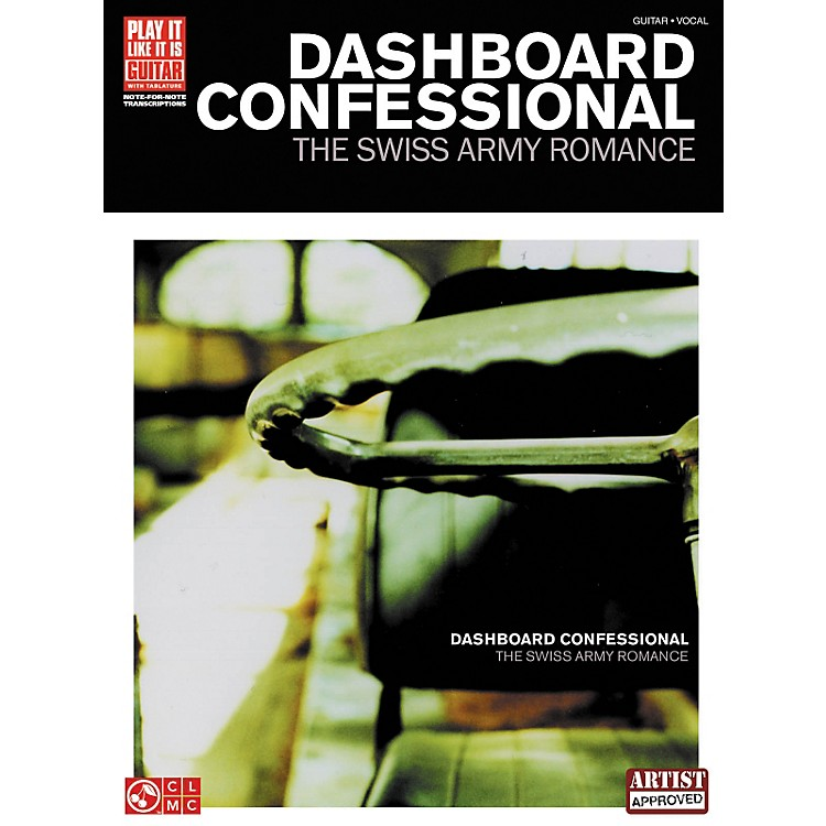 Cherry LaneDashboard Confessional The Swiss Army Romance Guitar Tab Songbook
