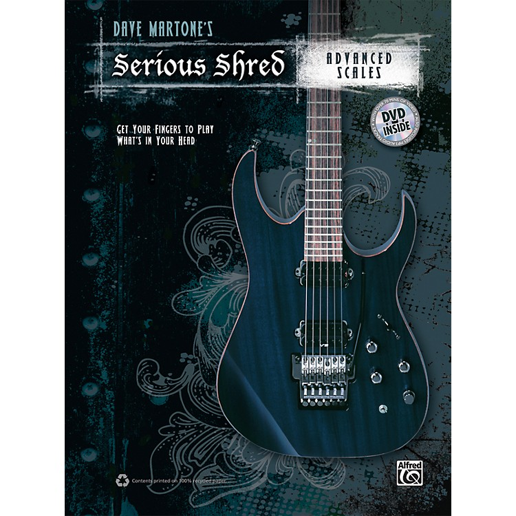 Alfred Dave Martones Serious Shred - Advanced Scales Book & DVD