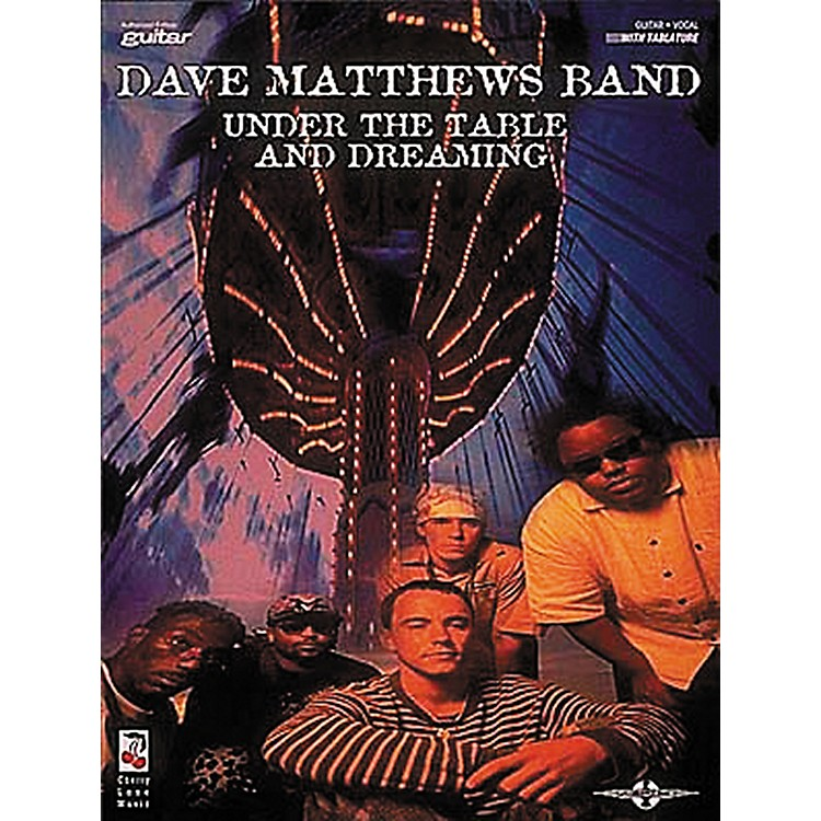 Hal LeonardDave Matthews Band - Under The Table And Dreaming Book