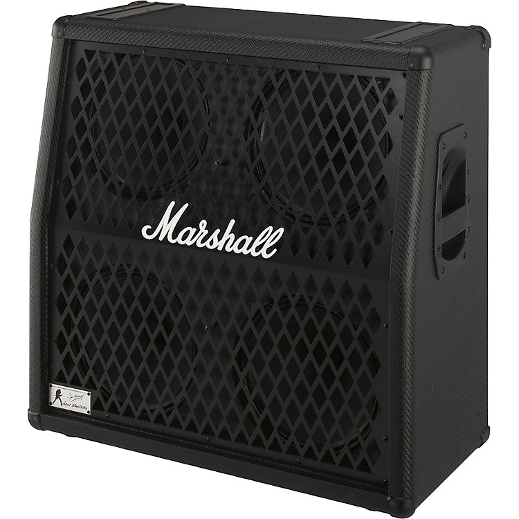 Marshall Dave Mustaine 1960DM 280W 4x12 Guitar Speaker Cabinet Black Straight