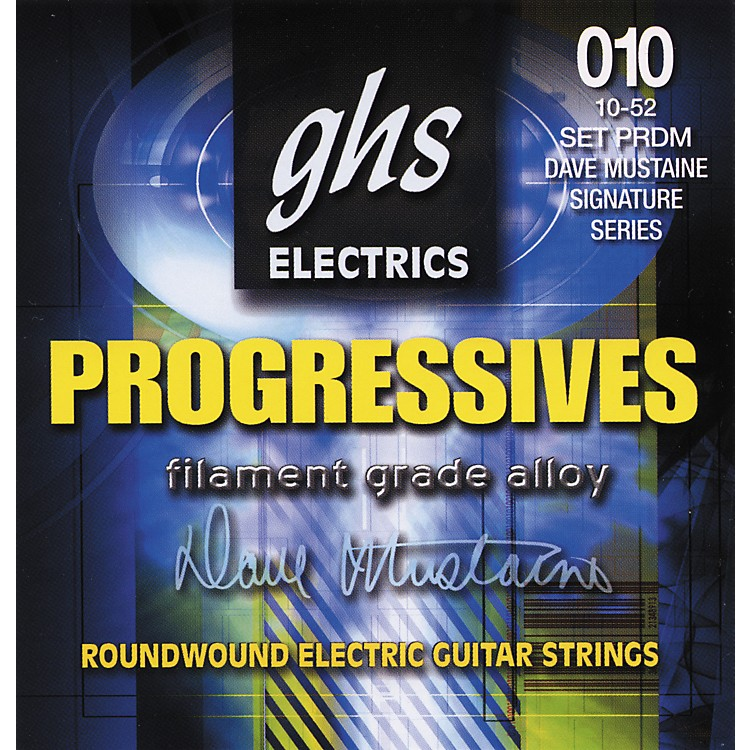 GHSDave Mustaine Signature Electric Guitar Strings