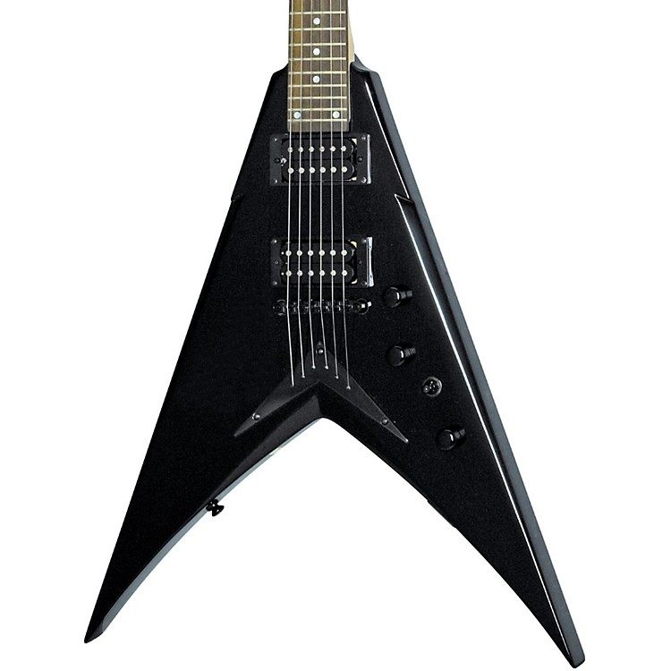 DeanDave Mustaine VMNTX Electric GuitarClassic Black