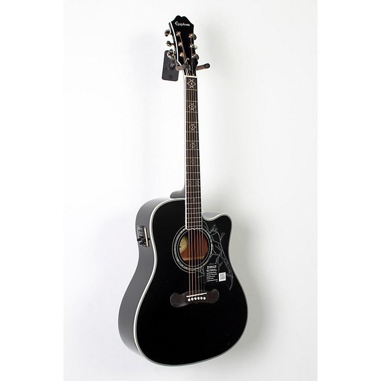 EpiphoneDave Navarro Signature Model Acoustic-Electric GuitarEbony888365847986