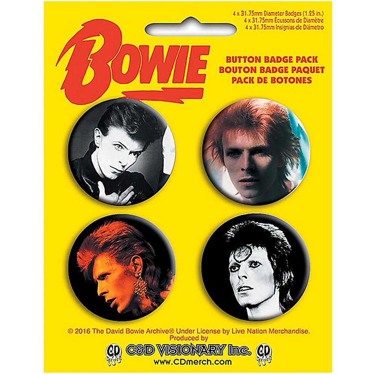 C&D VisionaryDavid Bowie Button Set