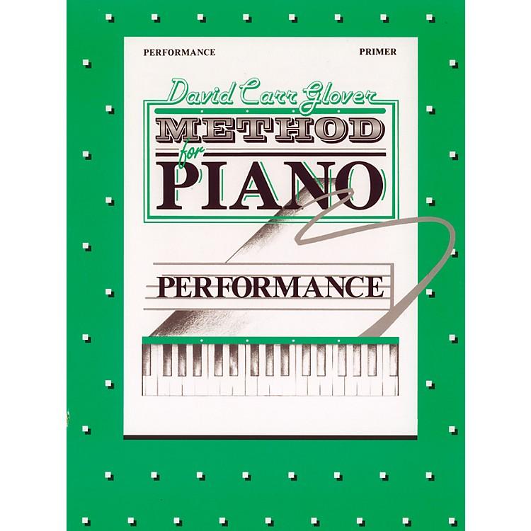 AlfredDavid Carr Glover Method for Piano Performance Primer