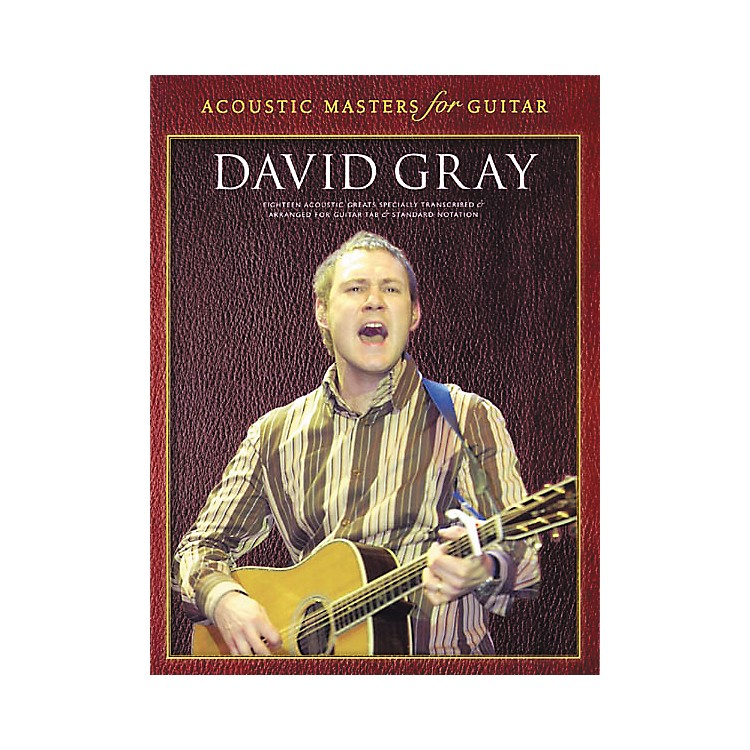 Wise PublicationsDavid Gray Guitar Tab Songbook