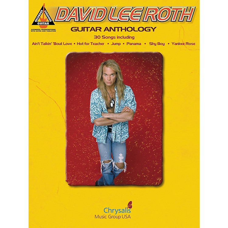 Hal Leonard David Lee Roth - Guitar Tab Songbook Anthology