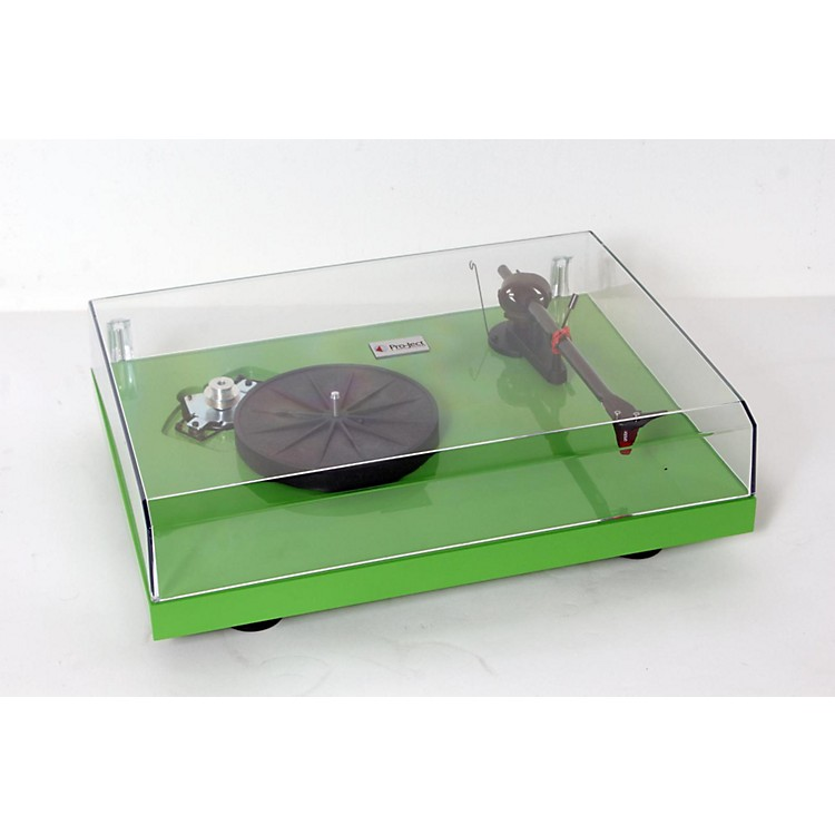Pro-Ject Debut Carbon DC Record Player Green 888365628158