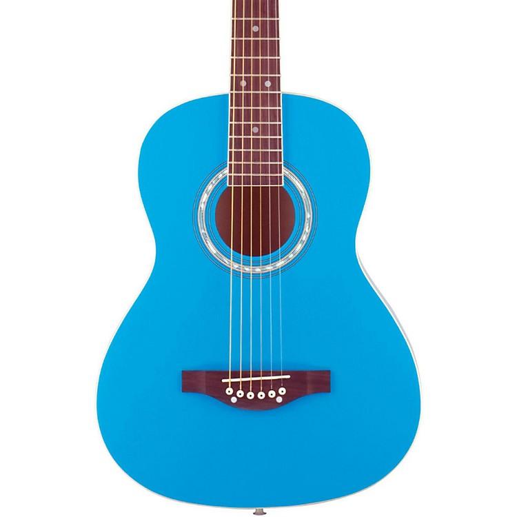 Daisy RockDebutante Junior Miss Short Scale Acoustic GuitarCotton Candy Blue