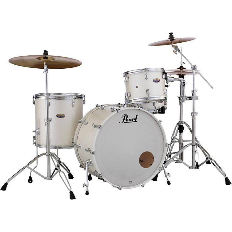 Pearl Decade Maple 3-Piece Shell Pack White Satin Pearl