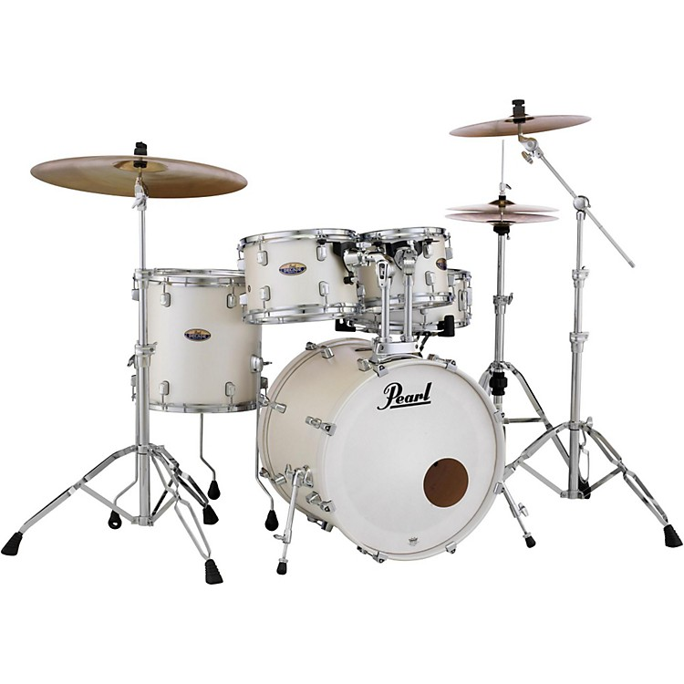 PearlDecade Maple 5-Piece Shell PackWhite Satin Pearl