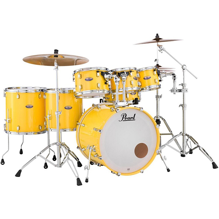PearlDecade Maple 7-Piece Shell PackSolid Yellow