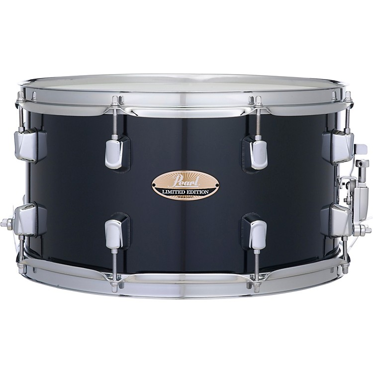 PearlDecade Maple Snare Drum14 x 7.5 in.Black Ice