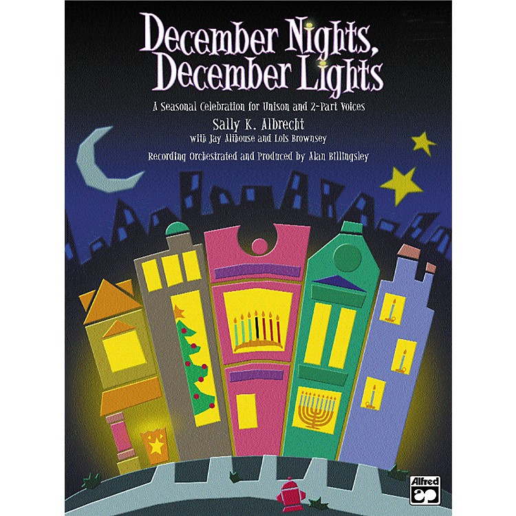 Alfred December Nights Lights Director's Score
