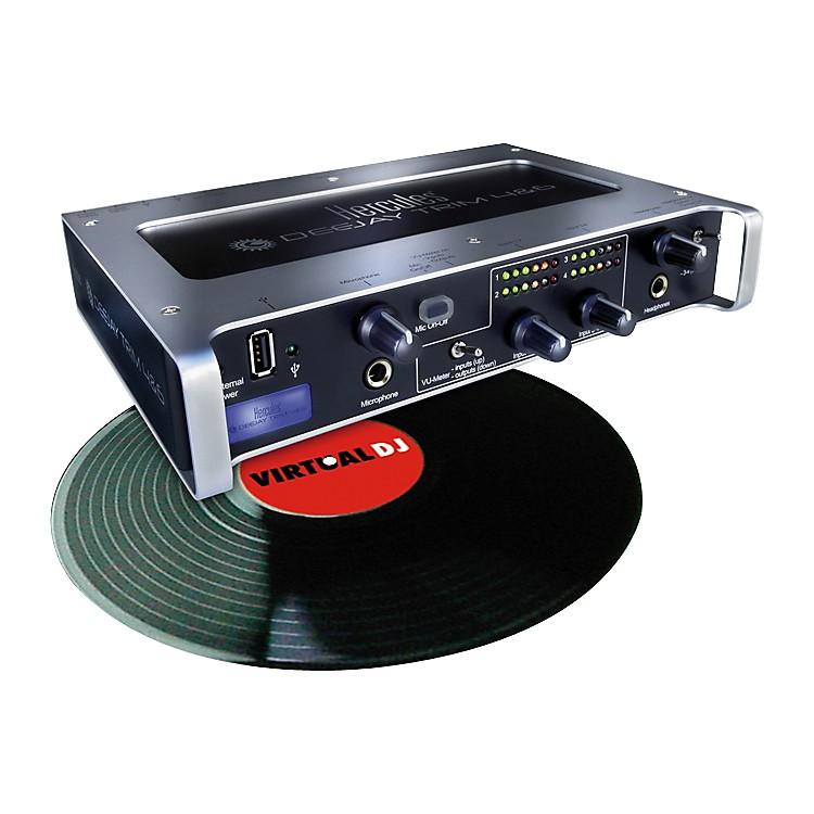 HerculesDeeJay Trim + Scratch 4&6 DJ Audio Interface and Time Code Software
