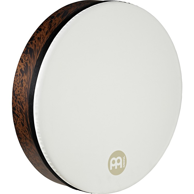 Meinl Deep Shell Tar with True Feel Head Brown Burl 18 in.