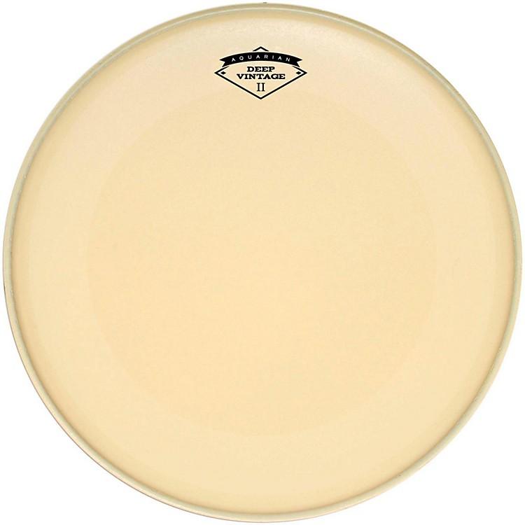 AquarianDeep Vintage II Bass Drumhead with Super-Kick20 in.