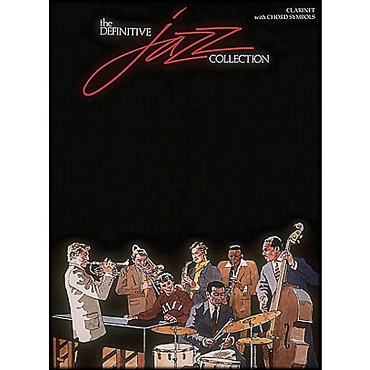 Hal LeonardDefinitive Jazz Collection Clarinet with Chord Symbols
