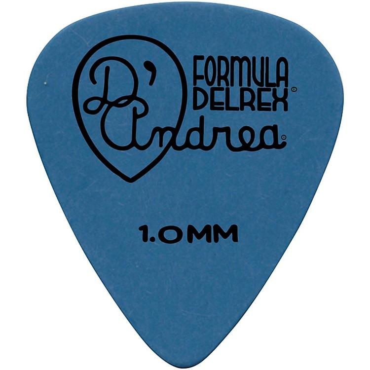 D'AndreaDelrex Delrin Guitar Picks One DozenBlue1.0MM