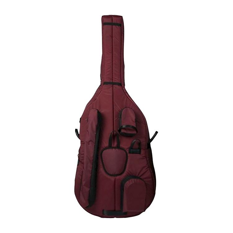 MooradianDeluxe 3/4 Double Bass BagLarge 3/4 Burgundy