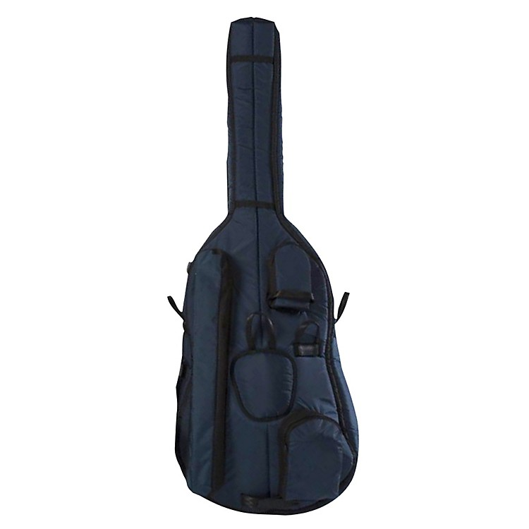 Mooradian Deluxe 3/4 Double Bass Bag Small 3/4 Blue