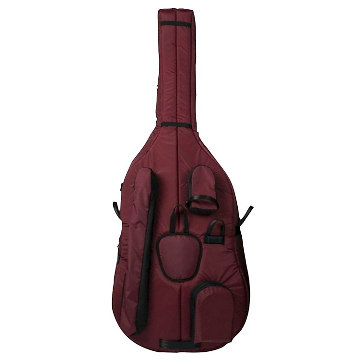 Mooradian Deluxe 3/4 Double Bass Bag Small 3/4 Burgundy