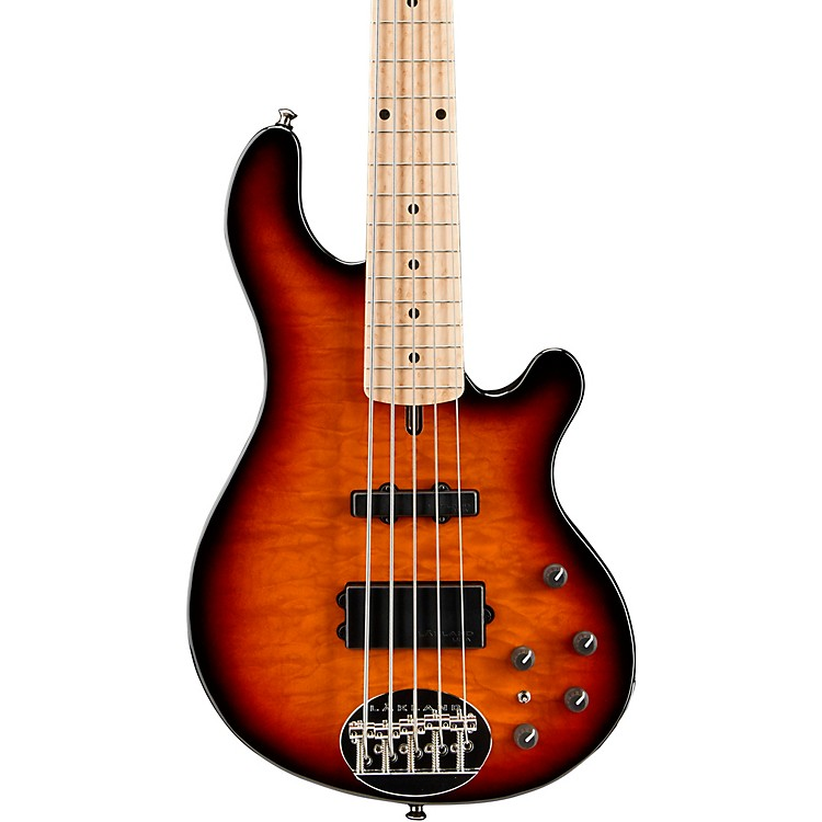 Lakland Deluxe 55-94 5-String Bass 3-Tone Sunburst Maple Fretboard