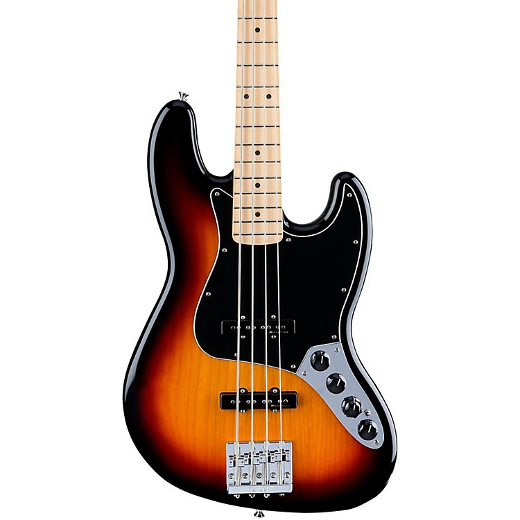 Fender Deluxe Active Jazz Bass, Maple Fingerboard 3-Color Sunburst