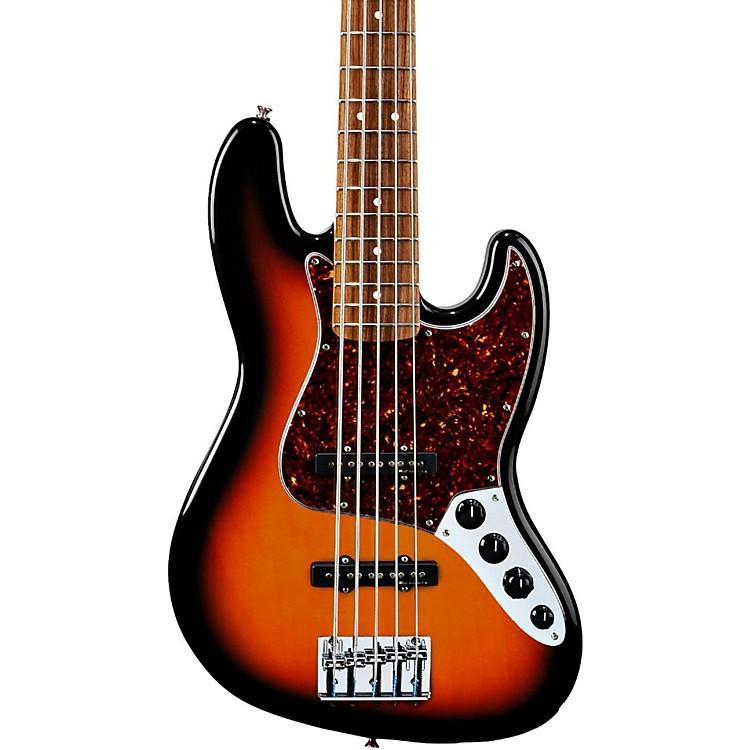 FenderDeluxe Active Jazz Bass VBrown SunburstPao Ferro