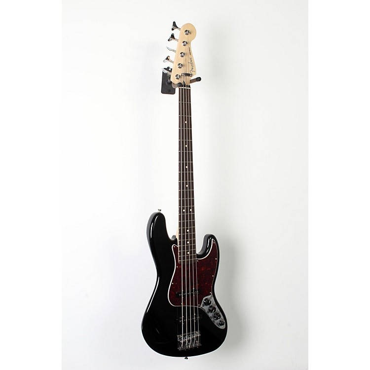 Fender Deluxe Active Jazz Bass V Black, Pao Ferro 888365854632