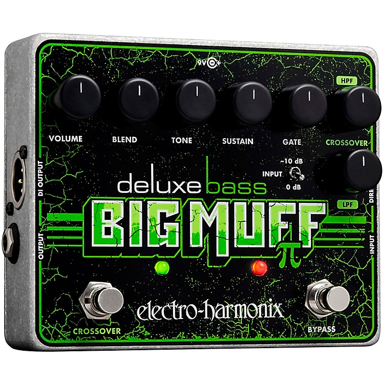 Electro-HarmonixDeluxe Bass Big Muff Pi Distortion Effects Pedal