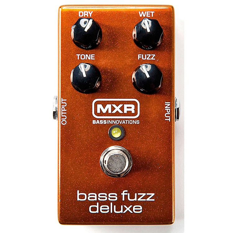 MXR Deluxe Bass Fuzz Effects Pedal