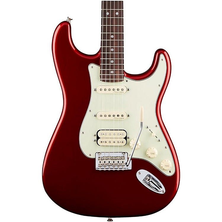 Fender Deluxe HSS Rosewood Fingerboard Stratocaster Candy Apple Red