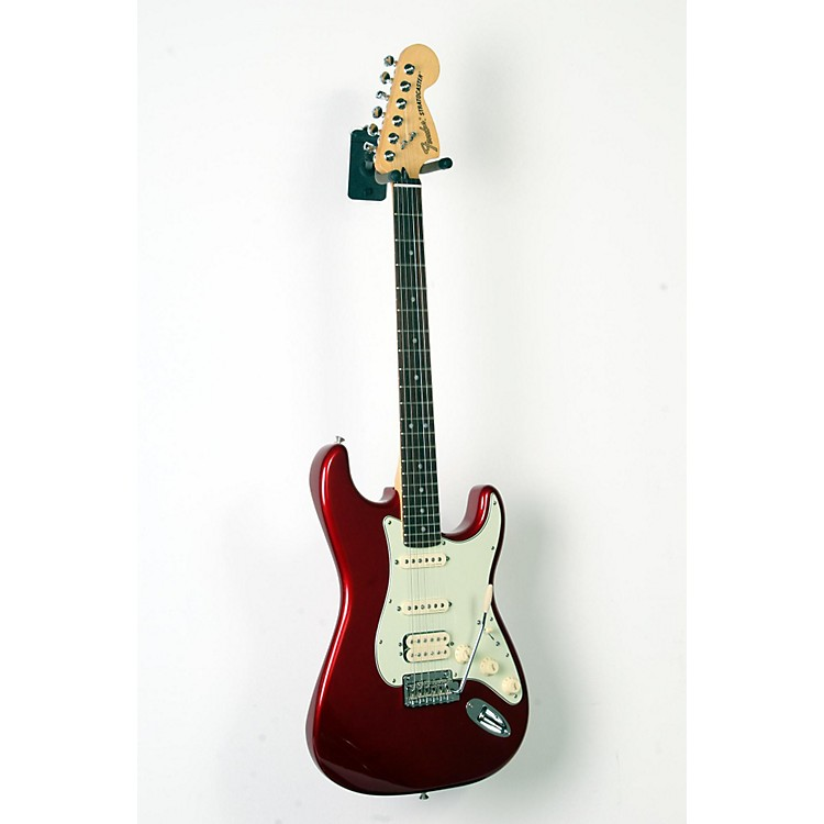 Fender Deluxe HSS Rosewood Fingerboard Stratocaster Candy Apple Red 888365916156