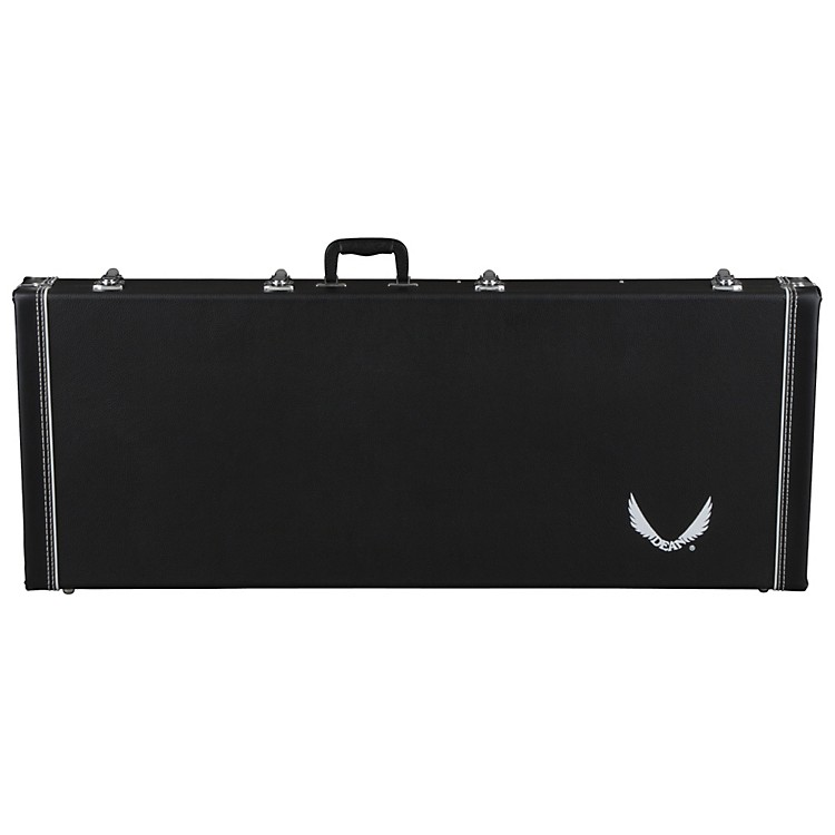 Dean Deluxe Hardshell Electric Bass Guitar Case for Metalman Z Series Black