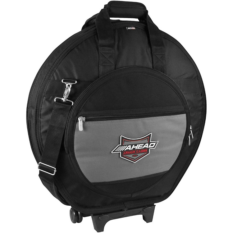 Ahead Armor CasesDeluxe Heavy Duty Cymbal Case with Wheels