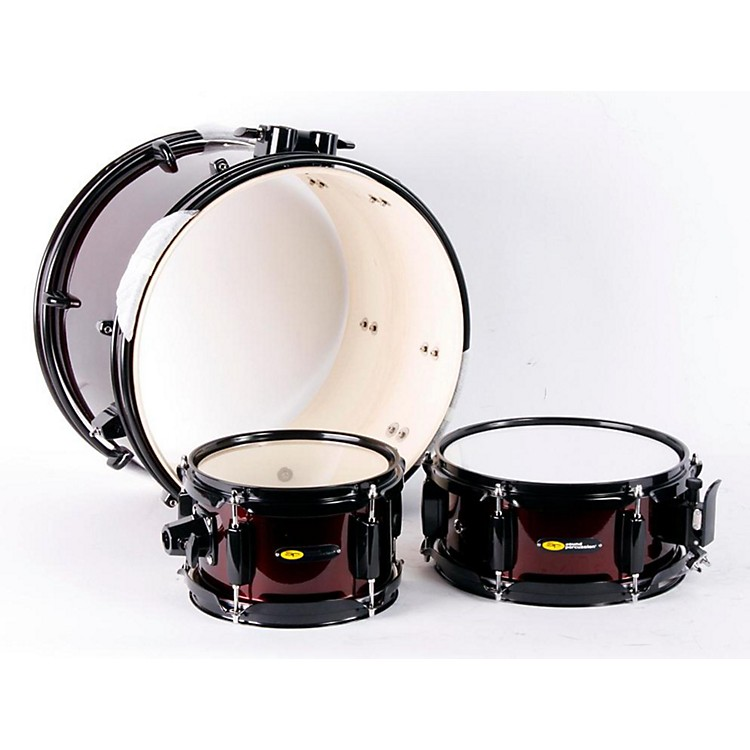 Sound Percussion Labs Deluxe Jr. 3-Piece Drum Set Wine Red 888365061825